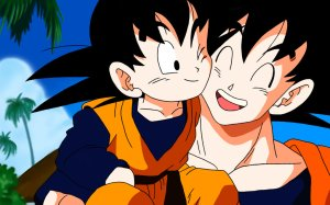 Goku Meets Goten