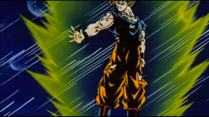 Goku Spirit Bomb Majin Buu