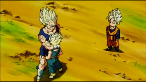 Vegeta Goodbye Trunks